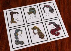 Zentangle The Originals by DesignsByBlynn on Etsy