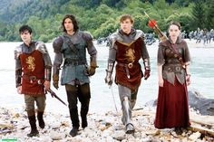 Le monde de Narnia. Chapitre 2 : Prince Caspian. Dec. 25th 2014. 16h20 (15:20 GMT). TF1