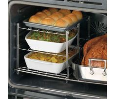 3-Tier Oven Rack for Holiday Cooking...  http://www.homeorganizeit.com/planholidaycookingandbaking.html