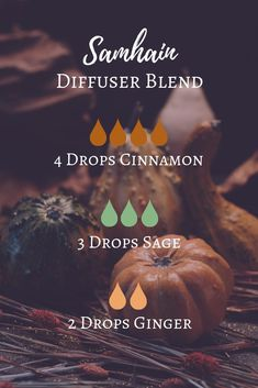 Samhain Essential Oil Diffuser Blend | The Modern Witch's Guide to Samhain online course