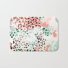 Breah - abstract painting pastel colors nursery baby gender neutral hipster