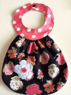 Bib / Drool Bib by SewingsoSweet on Etsy