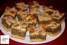 Almás-mákos rácsos sütemény - MindenegybenBlog