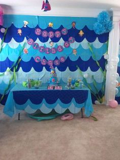 Under The Sea Bubble Guppies Birthday Party Ideas | Photo 1 of 23 | Catch My Party