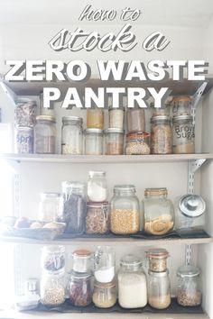 Going Zero Waste: Recipes