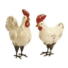 Imax  Set Of Two Quinn Roosters$32.50  $14.99