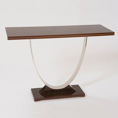 TRAMMEL CONSOLE TABLE 50100-01 Donghia.  Contact Avondale Design Studios for more information about any of the products we highlight on Pinterest.