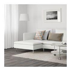 SÖDERHAMN 3:n istuttava sohva ja divaani - Finnsta valkoinen - IKEA