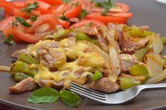 Bravčové mäso so syrom      Rýchly obed..