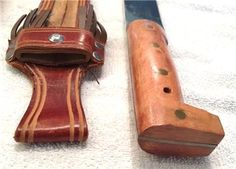 Vintage Imacasa Tiburon Decorative Machete Knife AND Leather ...