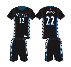 8e76f2d35 Minnesota Timberwolves Alternate Uniform 2014- Present Minnesota  Timberwolves