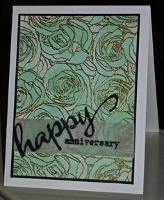 CAS358 Happy Anniversary by hskelly - Cards and Paper Crafts at Splitcoaststampers