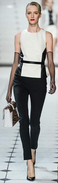 Black & White - Jason Wu Spring 2013
