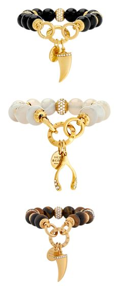 The Boho Grand Charm Bracelet is sure to become a favorite among your luxury jewelry collection: crafted with gleaming glass beads and fine gold plated brass, each color choice is adorned with a unique and meaningful charm.