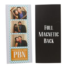 Vinyl Magnetic Photo Booth Picture Frame Image