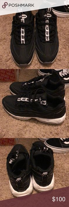 80da81d8b7 Black nike air max Decent condition still wearable Nike Shoes Sneakers
