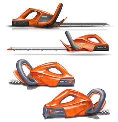 Battery hedgetrimmers by ed martin, via Behance.
