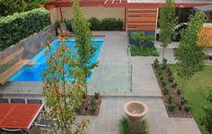 pool landscaping pictures ideas - Google Search