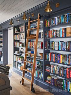 Bookshelf Library Home. Cool Home Library Ideas Hative. 6 Amazing Home Libraries Home Decor Singapore. Home and Family Home Library Design, House, Interior, Family Room, Home, Home Libraries, Bookshelves, New Homes, New York Apartment