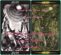 #Secret_Forest #Tarot #Moon #Illusion #Dreams #Listening  Sometimes what we think is the bigger picture is in reality not all that can be seen, there is that which is hidden from view.