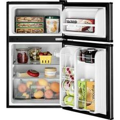 GE 3.1 cu. ft. Mini Refrigerator in CleanSteel-GML03GAEBS at The Home Depot