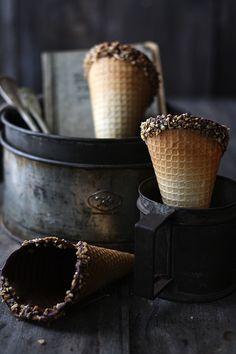Conos de helado caseros                                                                                                                                                                                 Más