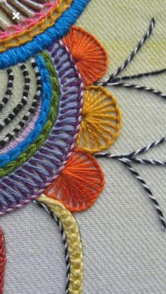 Modern Embroidery Embroidery Art Embroidery Patterns Embroidery Stitches Machine Embroidery Thread Crazy Quilt Stitches Brazilian Embroidery Needle And Thread Needlepoint Learn Embroidery, Hand Embroidery Stitches, Embroidery Hoop Art, Crewel Embroidery, Hand Embroidery Designs, Embroidery Techniques, Cross Stitch Embroidery, Embroidery Patterns, Stitch Patterns