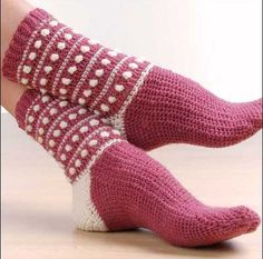 da5d2f8ba7a70 8 Best Crochet Socks images   Crochet clothes, Crochet slippers ...