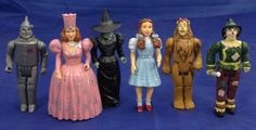 "Wizard of OZ 4"" Figures"
