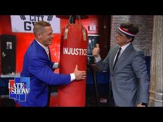 John Cena Helps Stephen Defeat Butch the Studio Bully