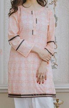 Girls Frock Design, Fancy Dress Design, Stylish Dress Designs, Stylish Dress Book, Stylish Dresses For Girls, Simple Dresses, Work Dresses, Casual Dresses, Simple Kurti Designs