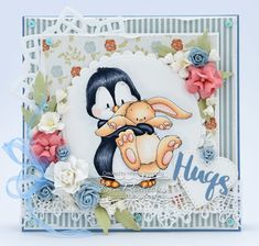 All the things I love: Penguin loves Bunny