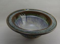 Stoneware Sink Sedona Moon Self rimming by MayraStonewareDesign
