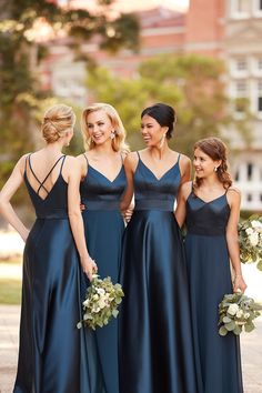 Courtesy of Sorella Vita bridesmaids dresses; Style 9088, 9168