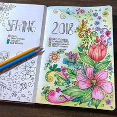 caratulas para cuadernos de secundaria a mano Bullet Journal Planner, Bullet Journal Writing, Bullet Journal Spread, Bullet Journal Inspiration, Book Journal, Page Borders Design, Doodle Art Journals, Flower Doodles, Book Art