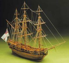 Ship Model Mantua - HMS President - Light Frigate 1700