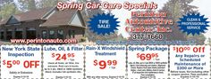 Perinton Auto with tire sale savings! Save on car repairs with us! Save on your NYS Inspection.