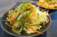 Salade de crudités Thaï
