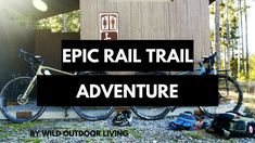 Epic Rail Trail Adventure : Tackling Yellowstone's Forgotten Rail Trail. Yellowstone Branch Line Trail, Warm River Rail Trail, Idaho, Yellowstone National Park