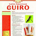 Make And Play Your Own Latin American guiro (percussion instrument).  Playing tips and a recycled craft. Perfect for Cinco De Mayo celebration or as part of a unit on Mexico/Latin America.
