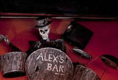 Alex's Bar in Long Beach, CA. A haven for for rockers of all kinds. Great drinks at good prices. You may even recognize it from HBO's True Blood.
