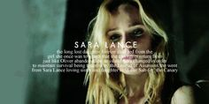 Sara Lance - A city of heroes