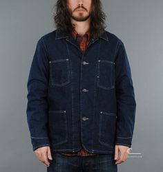 Levis Vintage Clothing  Sack Coat Blanket Lined Rinse  http://caliroots.com/c-store/product.asp?id=36547