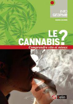 Le cannabis ? Comprendre vite et mieux, de Marina Julienne. Belin / Universcience, 2013. InfoGraphie.