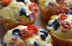 Muffins style pizza - Cuisine à Dine Coquille St Jacques, Doughnut, Sushi, Smoothies, Biscuits, Food And Drink, Breakfast, Ajouter, Ethnic Recipes