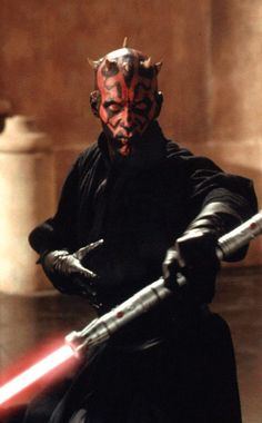 THE greatest Sith of all time. Minus the part where Obi-wan cuts him in half. We all know that was really lame.