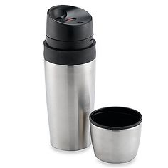 With three silicone seals, liquids are locked in for no spills. Beverage container features one-handed activation, a non-slip grip and a no-drip drinking spout that is contoured for comfort.