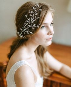 Stunning Bridal Headpiece by Olga Delice