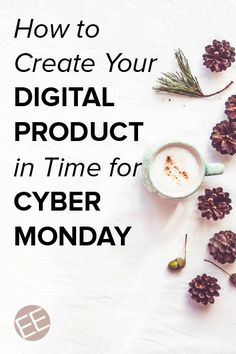Entrepreneurs and solopreneurs, are you ready for Cyber Monday and the holiday season? Join along as we work together to create a digital product from scratch in time to sell for the holiday season. Click though for the details.