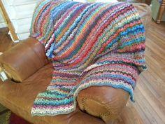 wobble blanket mistake stitch